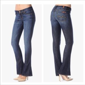 4222  7 For All Mankind 7FAM Kaylie Jeans Boot Cut